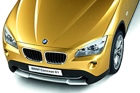 BMW X1 Concept new pictures