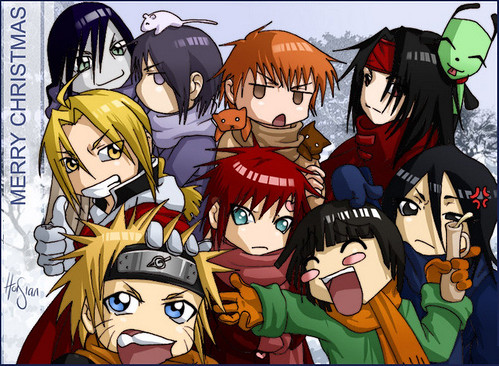 Anime Mix Up!!! Naruto, FMA, Fruits Basket, Bleach x3 by anime27fan [be back soon].