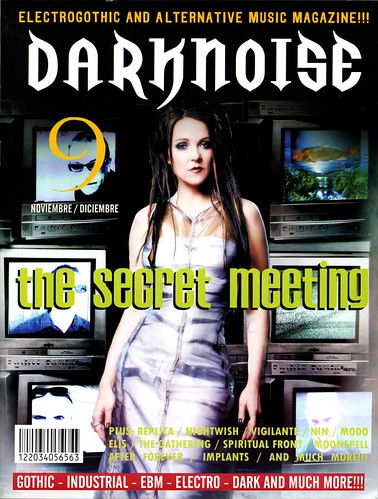 The Secret Meeting Darknoise cover