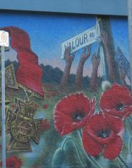 Valour Road Mural
