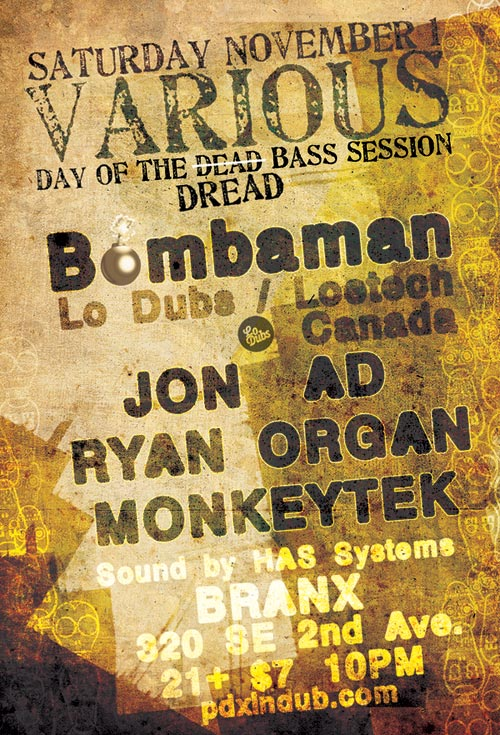 Day of the Dead, Portland Branx show