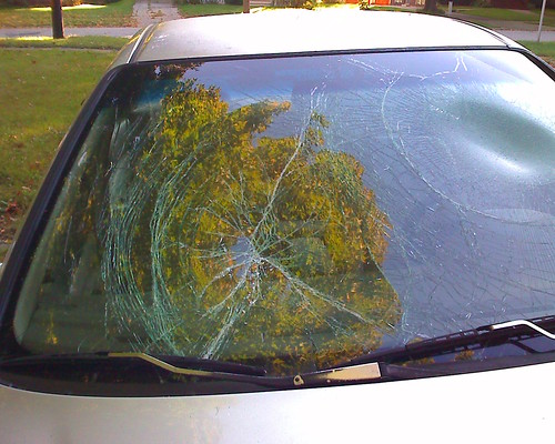 Broken Windshield on my car