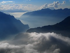 Switzerland, Bernese Alps, fog at the Bernese Lakes (Eifeelgood) Tags: autumn mountains fall relax schweiz switzerland bestof suisse spirit earth swiss magic herbst favorites places selection best alpine silence myfavorites indiansummer alpin magicplaces alpinemountains eifeelgood flowingstructures