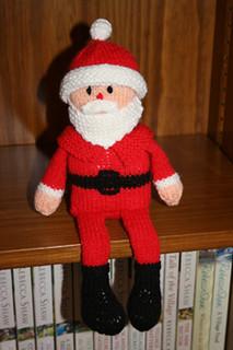 Ravelry: Santa Shelf Doll pattern by Jean Woods