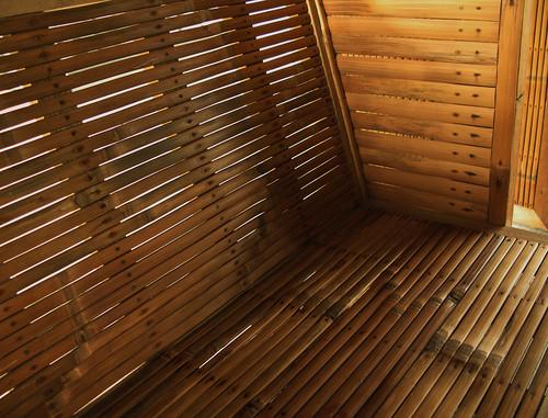 Bamboo seat