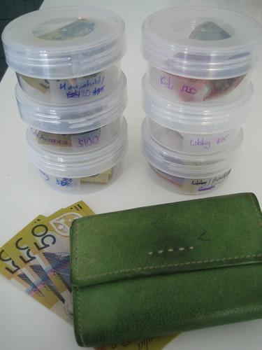 Cash budget system