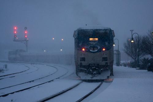 Amtrak Chilled