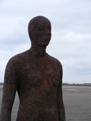 Another Place, Crosby Beach (ajmc_27) Tags: sea beach sand iron waves gpg antonygormley merseyside anotherplace classof98 ironmen crosbybeach universityofliverpool geologyandphysicalgeography