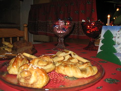 Traditional Christmas Morning Food- pastries