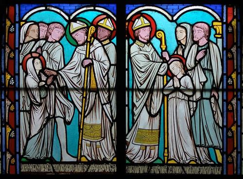 002-Vitral nº 2 claustro de Notre Dame de Paris
