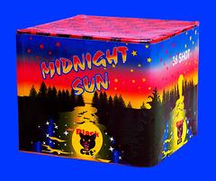 Midnight Sun Barrage by Black Cat Fireworks (EpicFireworks) Tags: sun cake blackcat fireworks firework midnight barrage epicfireworks
