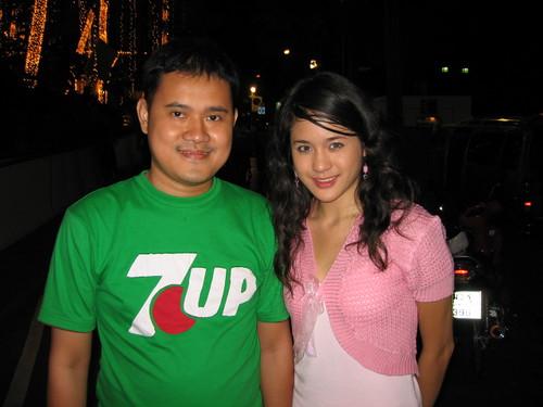 Me and Thai TV Actress
