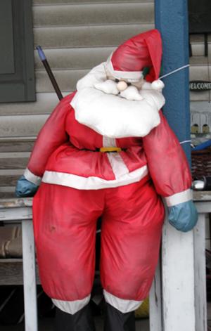 Droopy Santa (Click to enlarge)