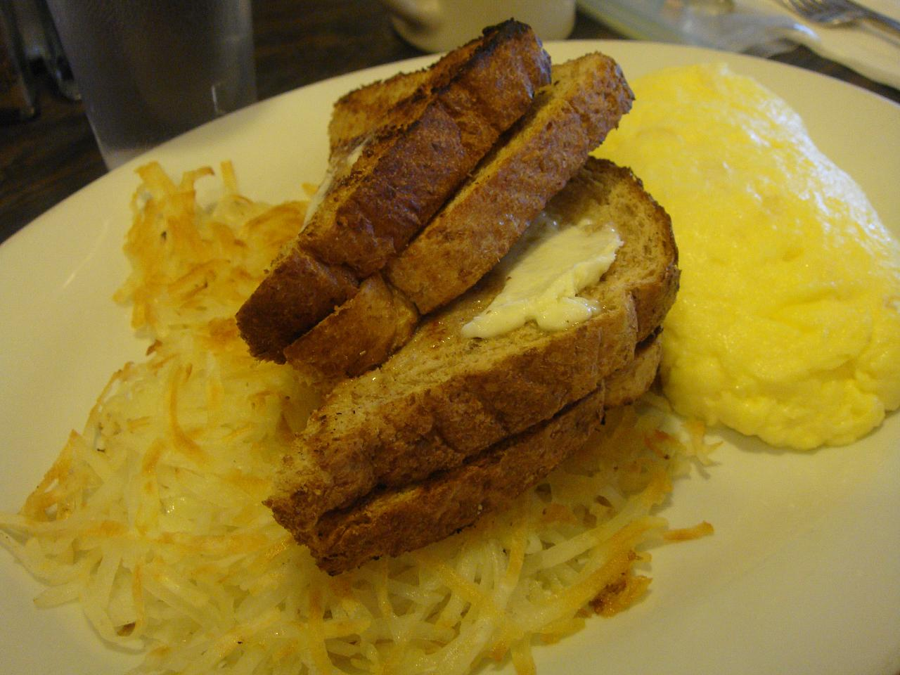 Scrambled Eggs with Hash Browns