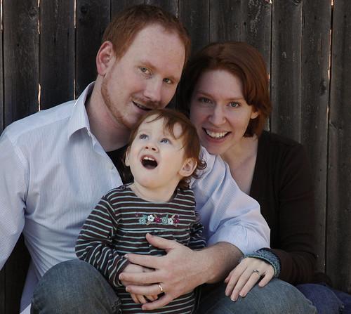Family pics blooper