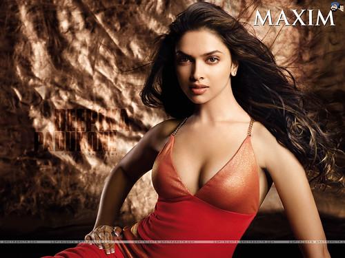 Deepika Padukone in Maxim Magazine