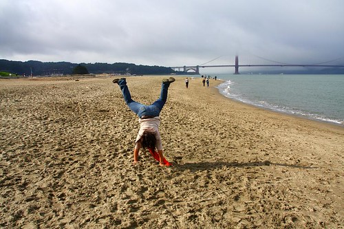 Cartwheel -- Leah's visit to San Francisco