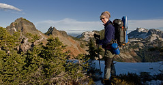 LPT_0293 (Lewis in Washington) Tags: hiking mountrainier 2008 michle scrambling plummerpeak