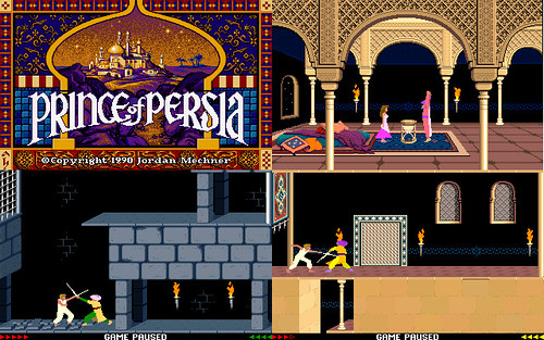 Prince of Persia MS DOS © flickr.com/CLF