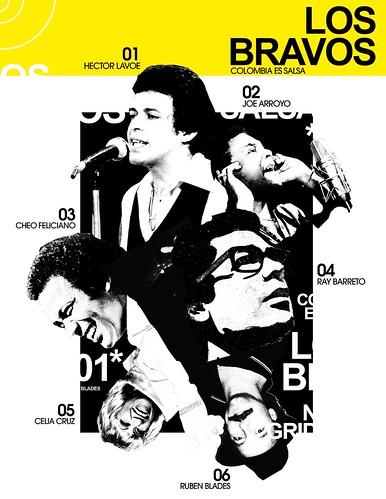 Llegaron los m's bravos.....Los bravos de la salsa..Guepaje! (Collage Vectores) by Javier Piragauta.