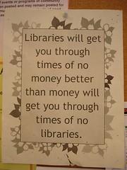 Bibliotecas para épocas de crisis