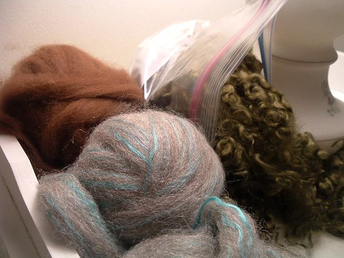 Alpaca, Alpaca-Silk, and Mohair Curls