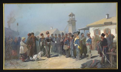 003-Intento de tratado para liberar cosacos presos en el ejercito de Napoleon 1813