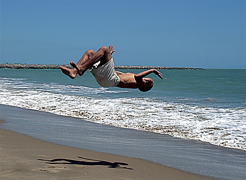 Capoeira on the beach, Fortaleza - Brazil