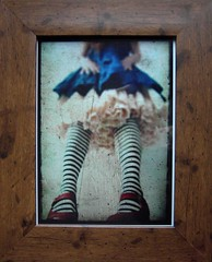 Alice in Wonderland (framed)