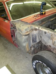 P1010252 (pscho) Tags: classiccar restoration mustang mach1