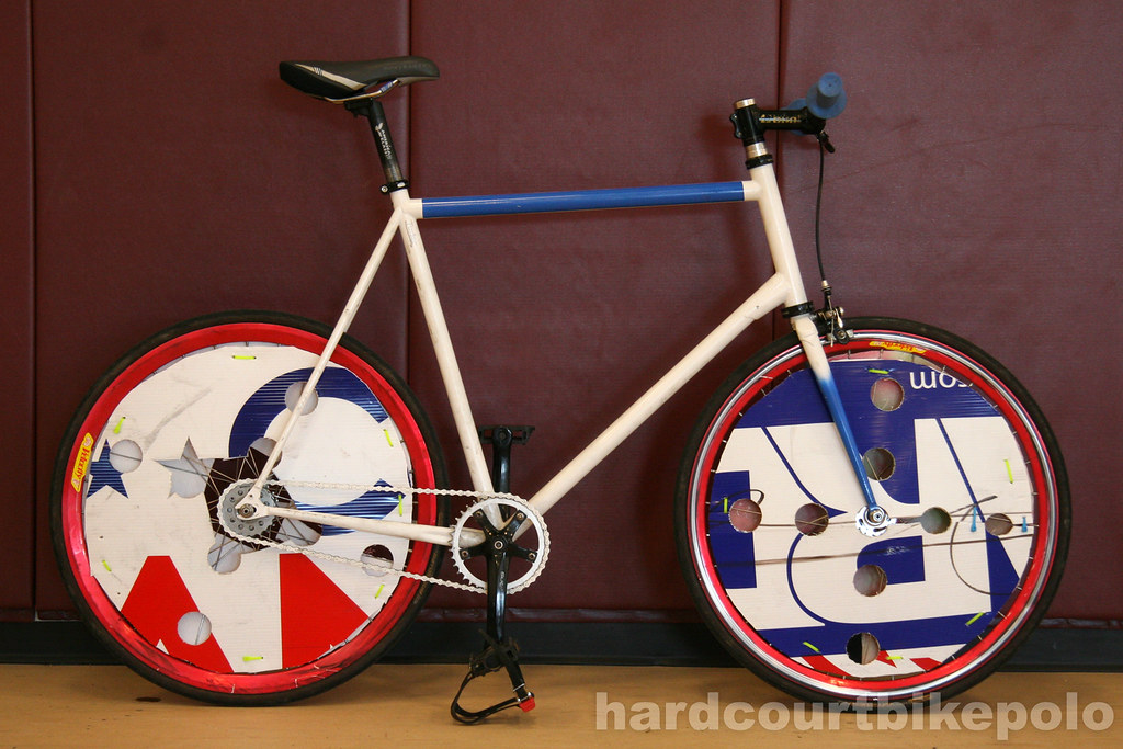 Tucker's hardcourt polo bike full
