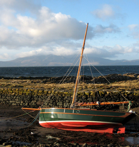 Portencross and Arran 17Jan09