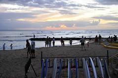 Honolulu (2) (AAron Metcalfe) Tags: sunset oahu honolulu waikikibeach