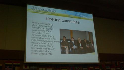 IFAD-WFP-FAO-CGIAR Share Fare 2009
