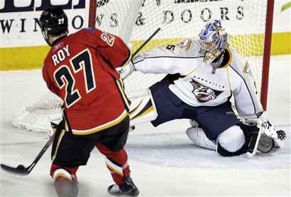 Predators Flames Hockey