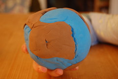 Earth Model (Derringdos) Tags: crust model earth inner clay outer mantle core