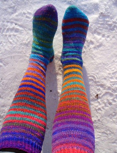 Sunshine and new socks