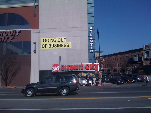Circuit City out of Business at Atlantic Ctr. Bklyn