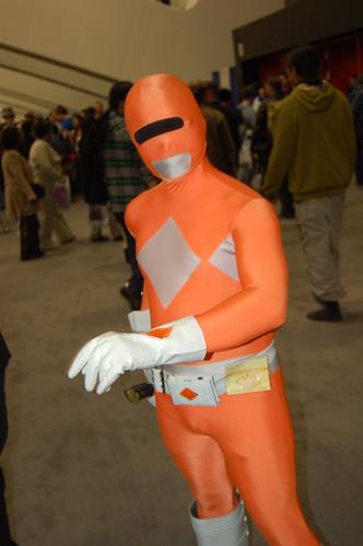 Wonder Con 2009: Orange Ranger?