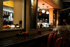A Coffee Shop in Tel Aviv (amirlevy) Tags: woman man israel telaviv tl aviv 100 coffe     pepole