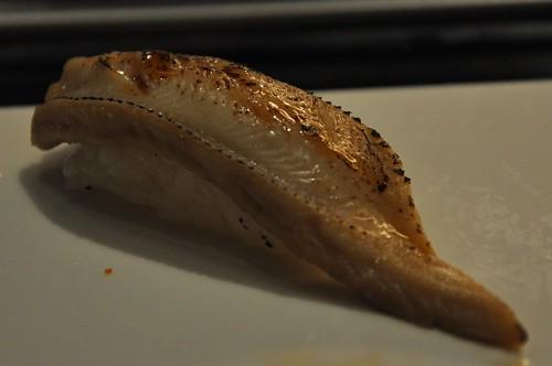 你拍攝的 穴子壽司。