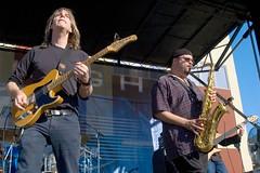 DSC_6831 (Grudnick) Tags: music guitar live jazz blues maryland yamaha hagerstown mikestern bobfranceschini westernmarylandbluesfestival pac1511ms