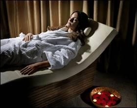 Sanctuary spa bed