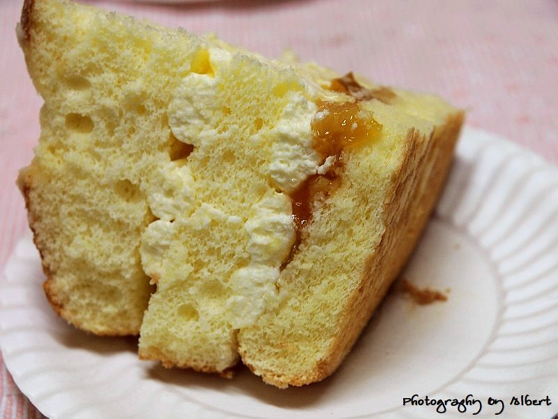 香提蛋糕(原味)內部