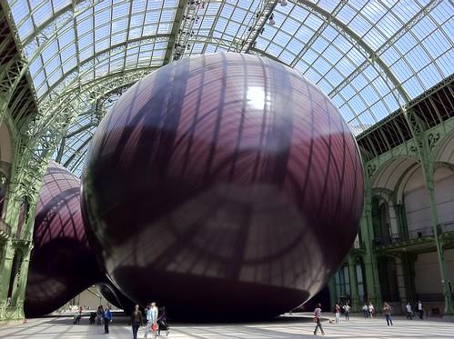 Anish Kapoor au Grand Palais : Leviathan