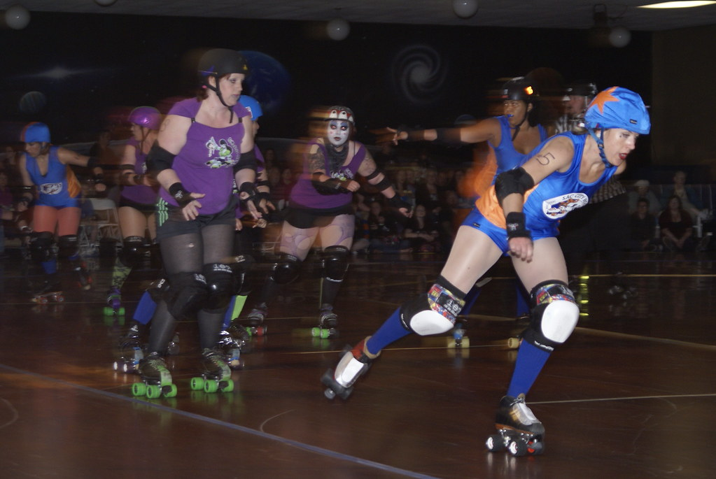 Star-Spangled Splatter Roller Derby