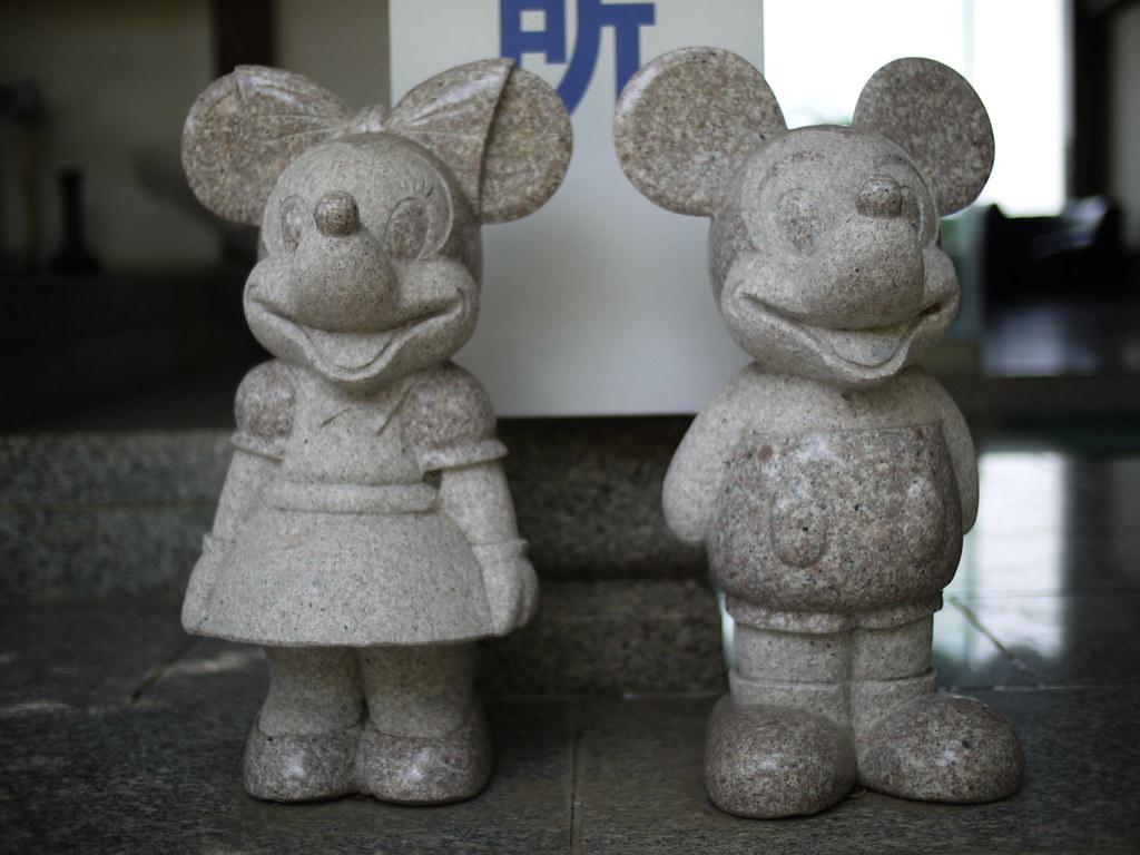 Disney Statue