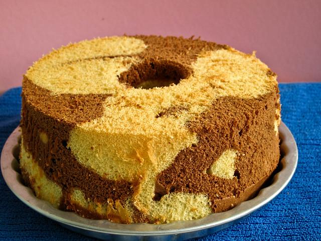 IMG_0823 Chocalte Marble Chiffon cake
