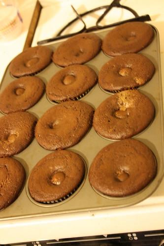 Cadbury Egg Cupcakes 3