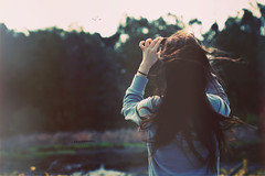 Day 189/365 ~ Every Time that You Lose It, Sing It for the World (Amanda Mabel) Tags: blue trees light sunset portrait sky brown mist black girl birds fog vintage hair evening flying back sweater holding mess day hand phone darkness wind bokeh dusk fingers band pale lightleak sing bones faceless 365 brunette breeze mychemicalromance 189 sleeves iphone strands amandamabel we'vegottoseewhattomorrowbrings everytimethatyouloseitsingitfortheworld